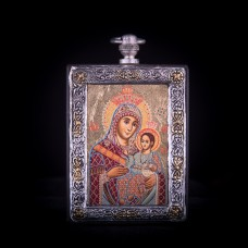 002/0024 silver icon virgin Mary of Bethlehem