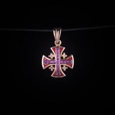 003/0262   Jerusalem cross with diamonds