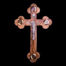004/0004 Olive wood cross