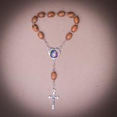 005/0014 Olive wood rosary
