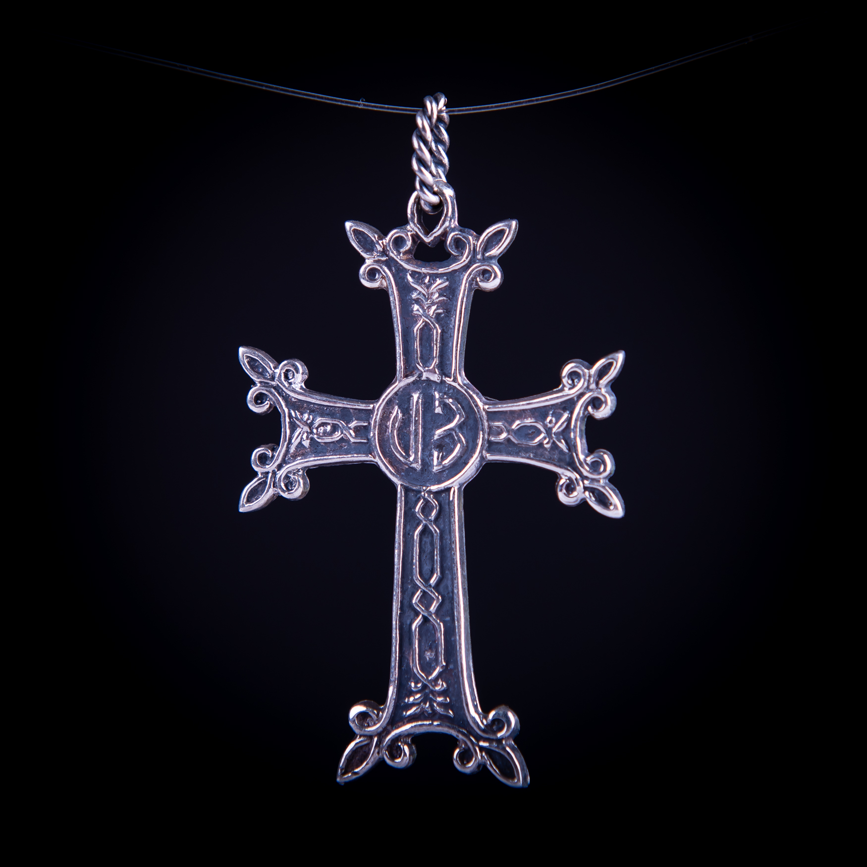 003/0169 Silver Armenian cross