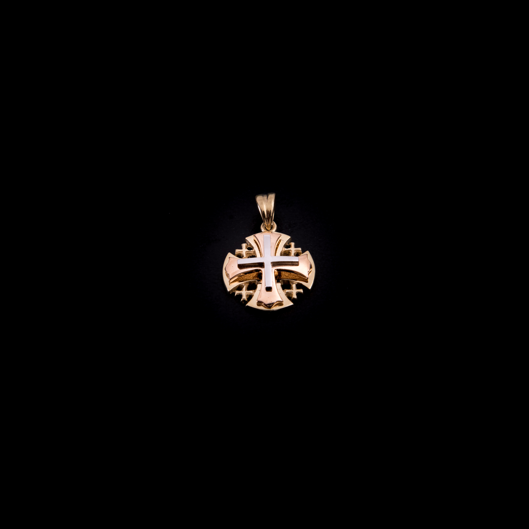 003/0247  Jerusalem cross 14k